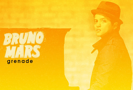 Lirik Lagu Bruno Mars Grenade dan Terjemahan