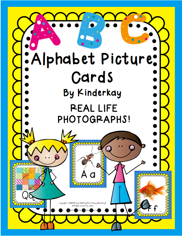http://www.teacherspayteachers.com/Product/Alphabet-Picture-Cards-292955