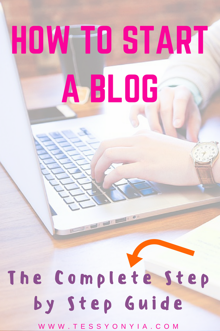 HOW TO START A BLOG!