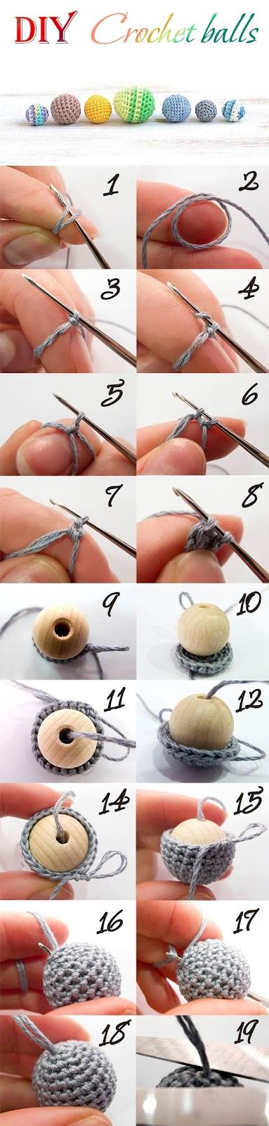 Il blog di Vera Maglia&Uncinetto: Coprire le perle con l uncinetto