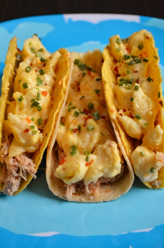 For the Love of Dessert: Mac n' Cheese Tacos