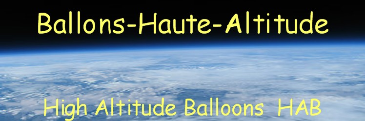 BALLONS HAUTE ALTITUDE