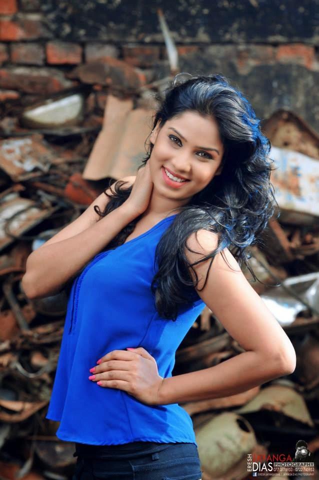 Rithu Akarsha blue