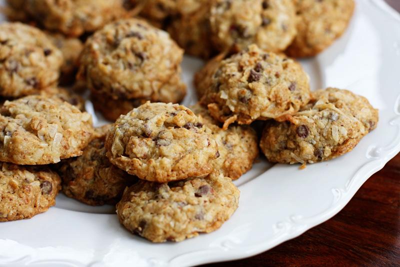 almond joy granola cookies | Sweet Anna's