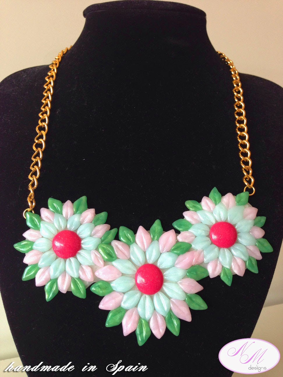 "Collar/Necklace ""Primavera"" NM Designs"