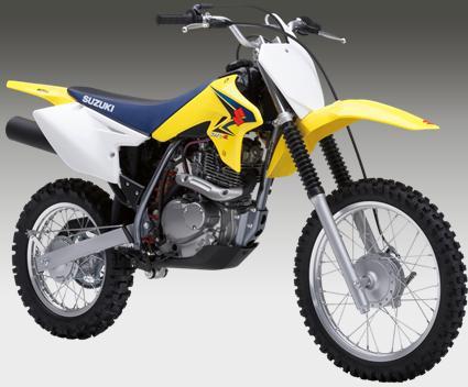Suzuki DR-Z125 - 125 cc Mini Dirt Bike   Motorcycles and Ninja 250
