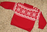 Four Star Norwegian Baby Sweater