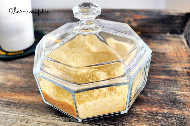 cukiernica z kryształu