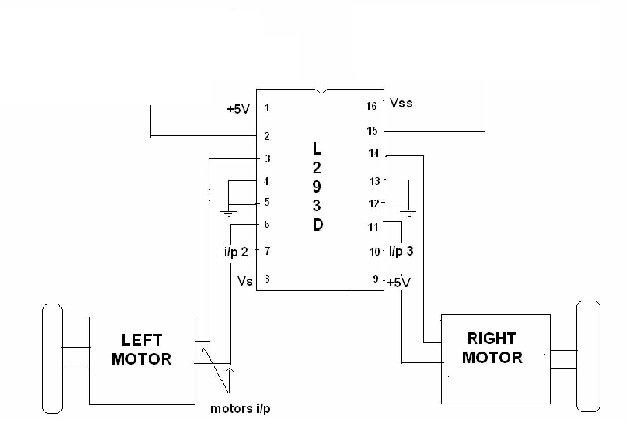 Using The L239d Motor Driver Ic Speed Controller Circuit That Can Be Used For Varying Connecting To Motors