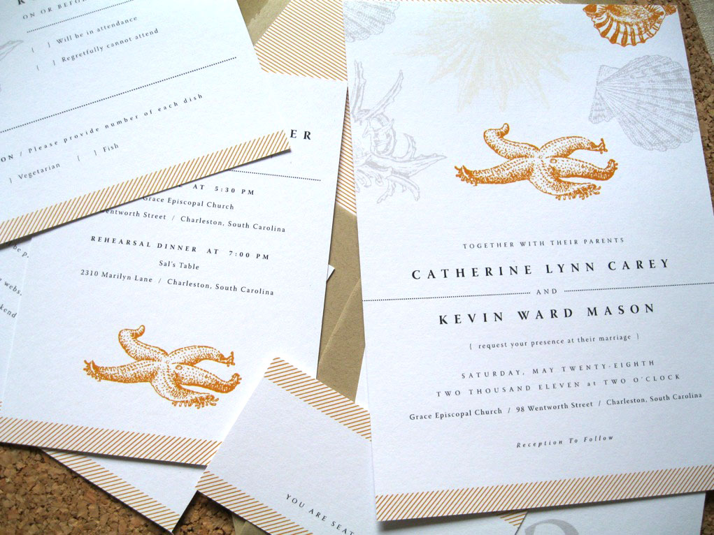 Classy Beach Wedding Invitations Images