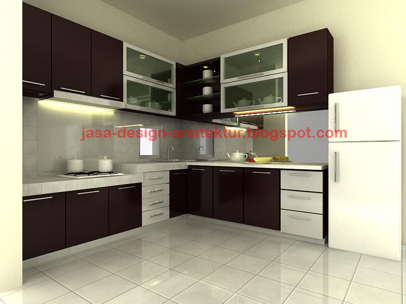 Kontraktor interior surabaya sidoarjo harga dapur for Harga kitchen set aluminium per meter