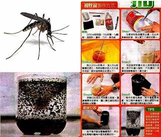 Tips Mudah Memberantas Nyamuk Demam Berdarah (Jebakan Nyamuk), Cara membasmi nyamuk demam berdarah, How to Mosquito Trap, Membuat jebakan nyamuk