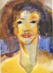 watercolor by Emil Nolde