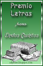 PREMIO LETRAS