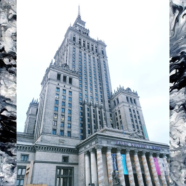 Jelena Zivanovic Instagram @lelazivanovic.Glam fab week.The palace of culture and science,Warsaw,Poland.