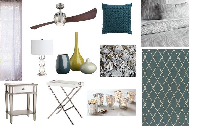 Bedroom Interior Design Presentation Boards
