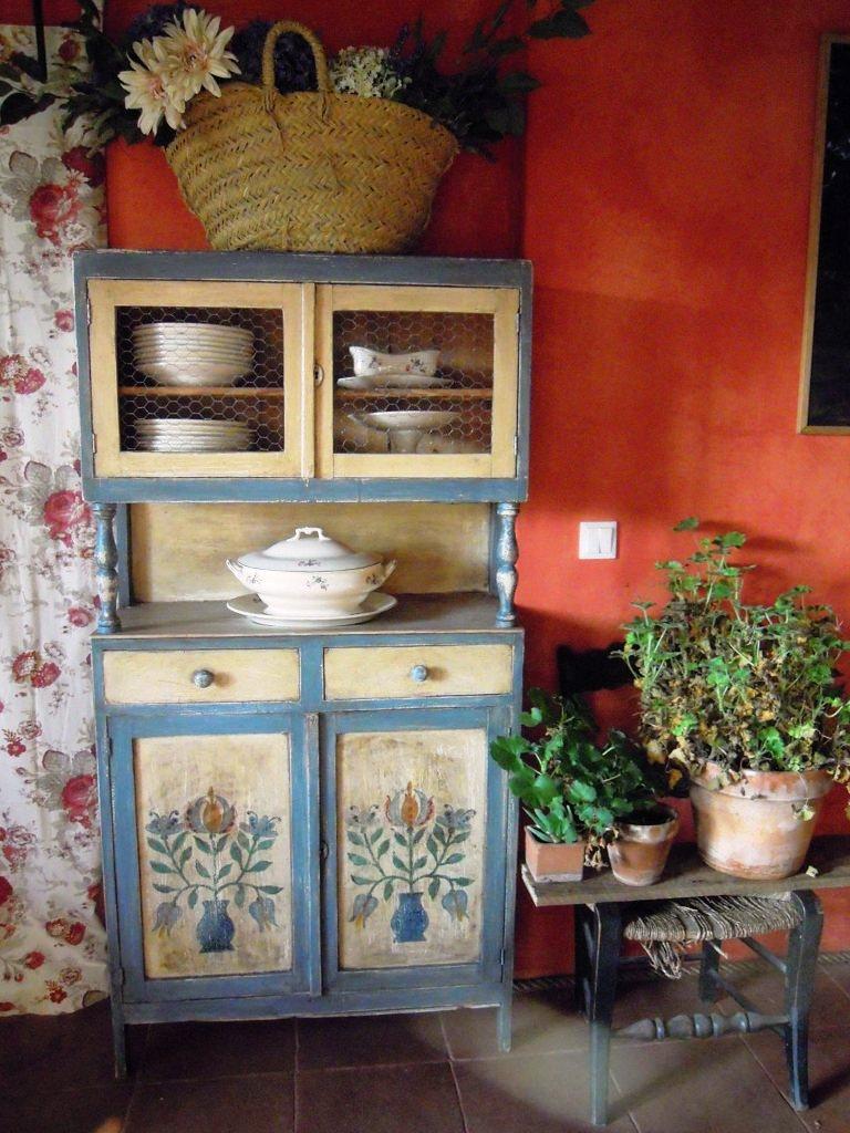 Un rinc n vintage julio 2011 for Alacenas vintage