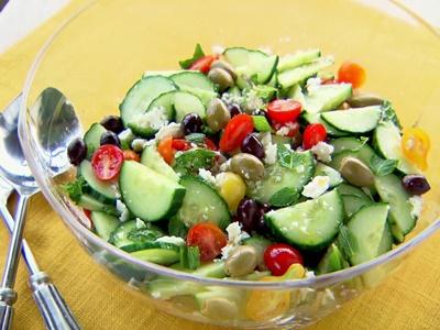 Minty Greek Salad