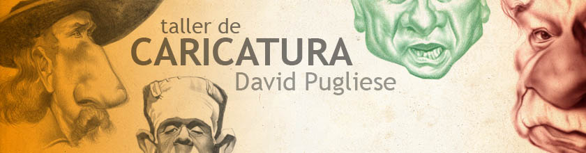 Quiero aprender dibujo, caricatura e ilustración con David Pugliese