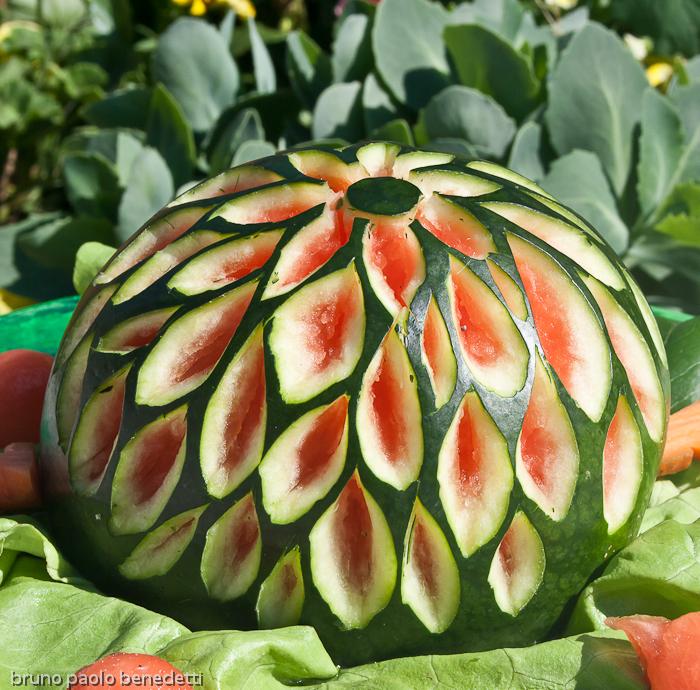 Learn easily fruit carving skill vegetable fruits