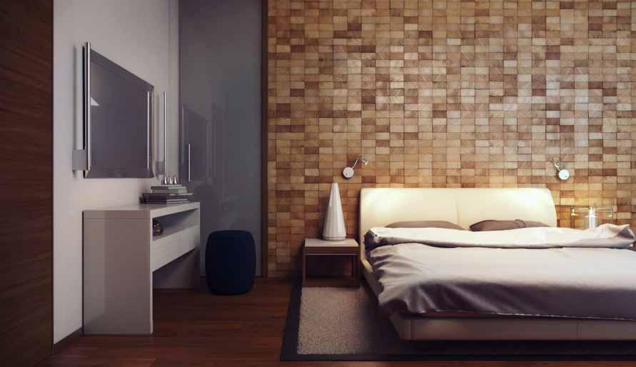 Desain Kamar Tidur Utama Minimalis Modern
