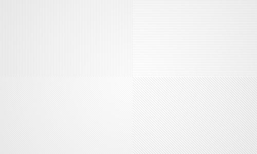 35 Tiny Pixel  white Patterns