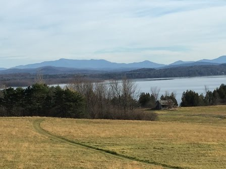Mt Mansfield from our Island home