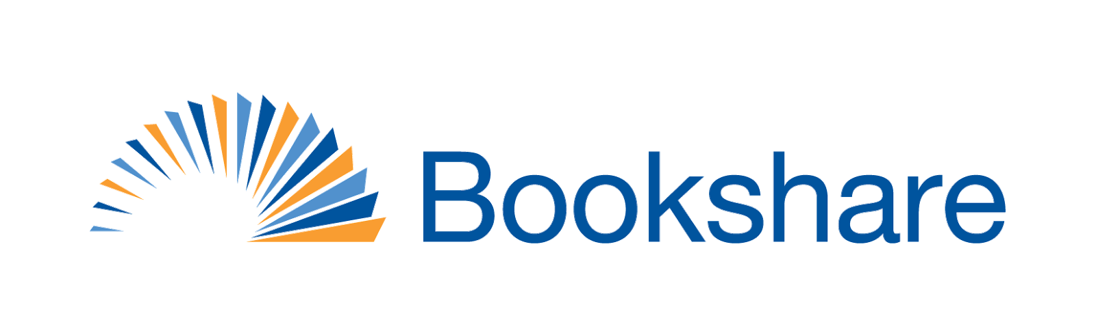 Logo for Bookshare, a Benetech Global Literacy initiative.