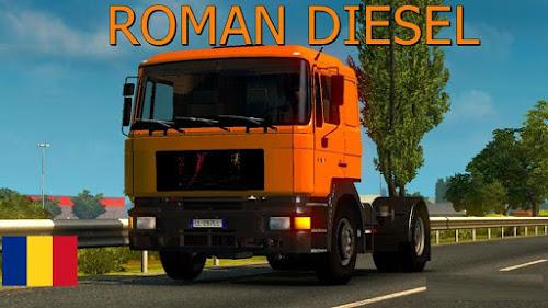 ETS2 Caminhão - Roman Diesel V.0.1 Para V.1.25.X By: Traian