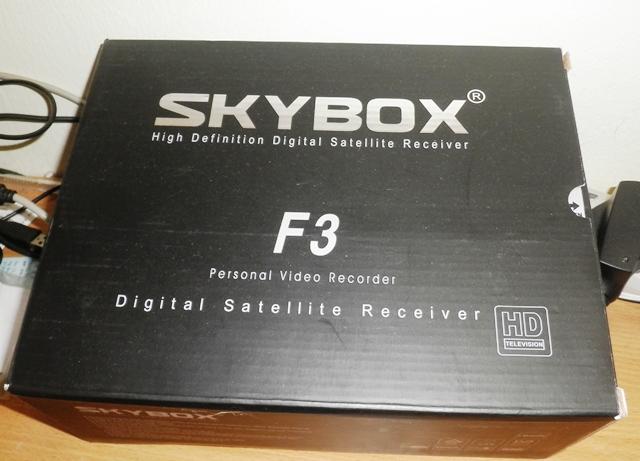 Nova Atualização Skybox F3/M3(Software-USB Wifi) 08/08/12