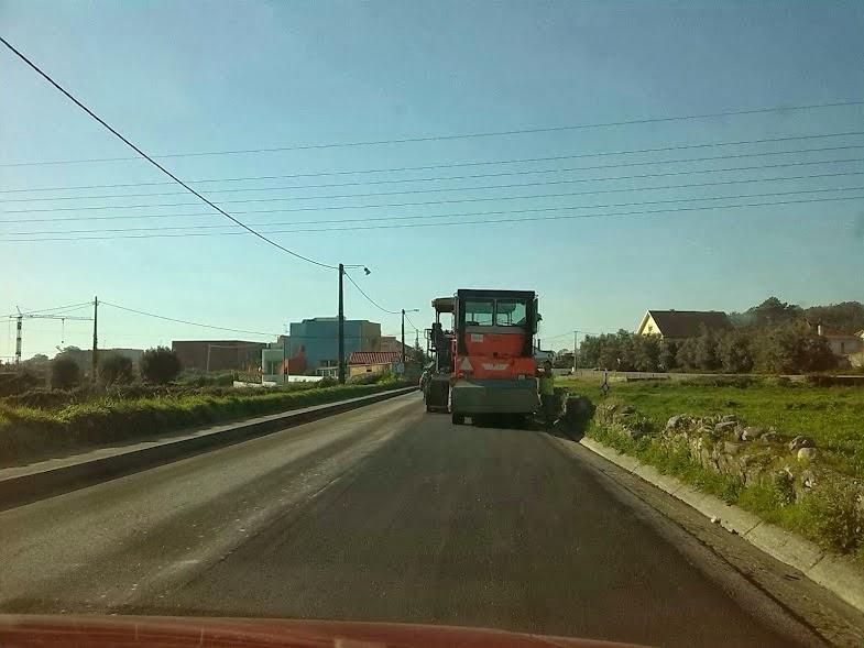 Estrada EN-305 - Inicio da Reta de Baralha