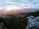 Vistes de la Plana des del mirador natural