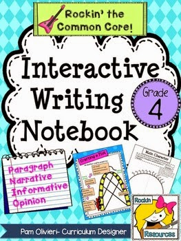 https://www.teacherspayteachers.com/Product/Interactive-Writing-Notebook-Grade-4-with-ALL-Common-Core-Writing-Standards-799623