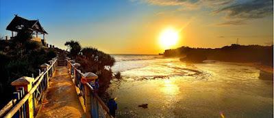 Pesona Sunset Patai cungkup