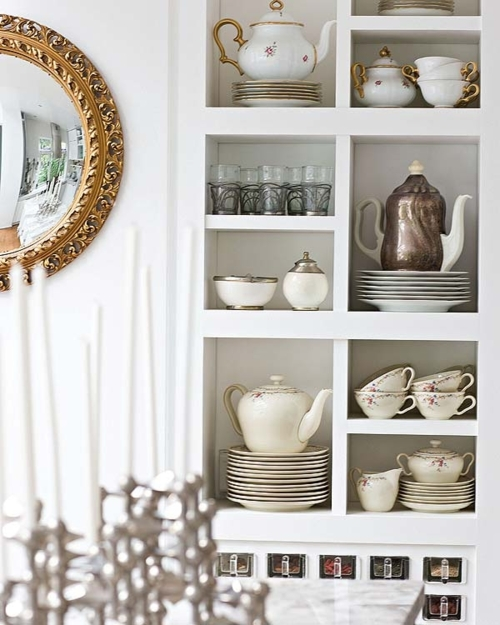 Kitchen Shelf Inspiration: California Livin Home: Kitchen Inspiration: Open Shelves