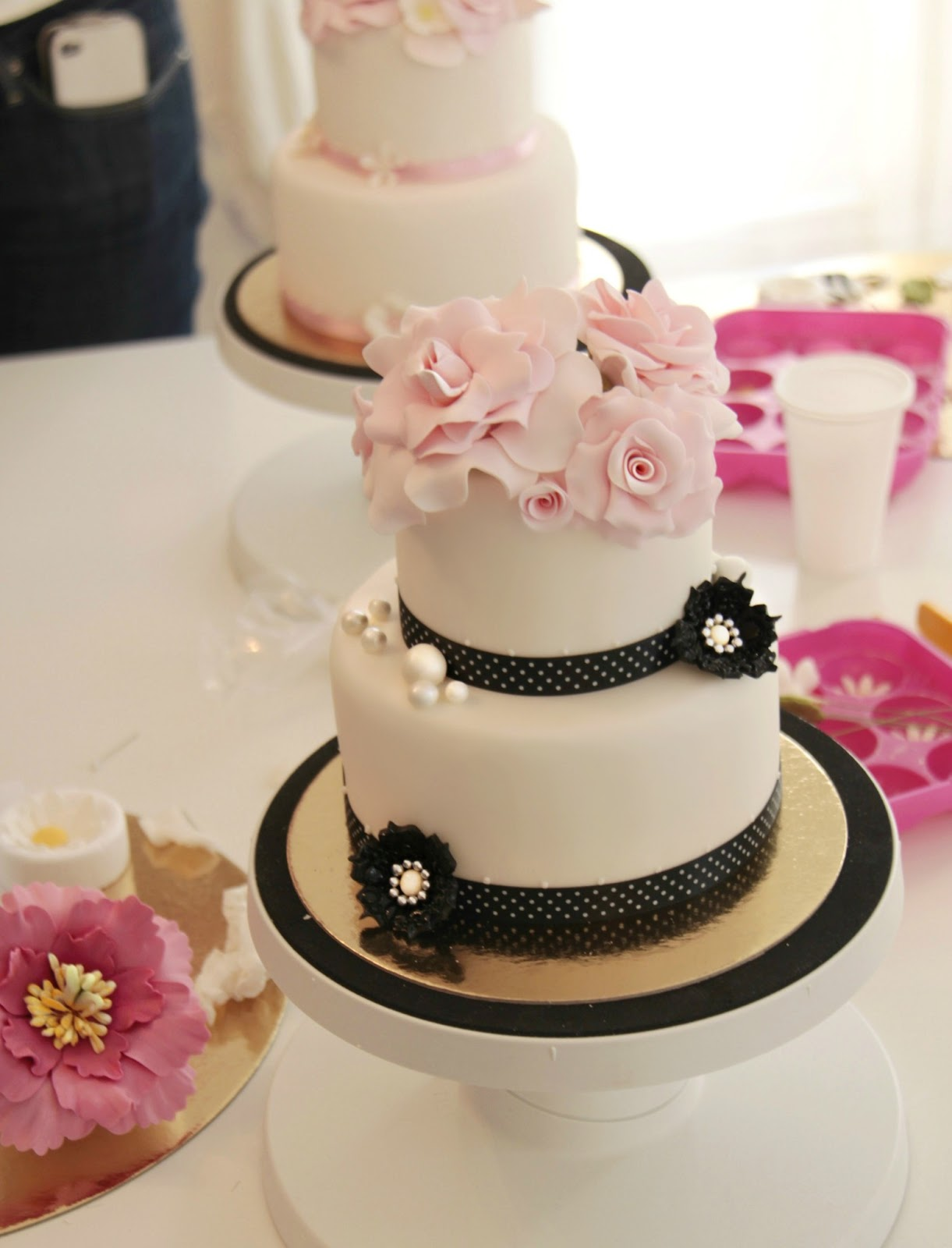decoracion de cakes con fondant