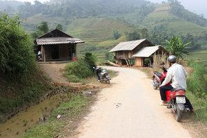 On the way to Sán Sả Hồ commune, Hoàng Su Phì district