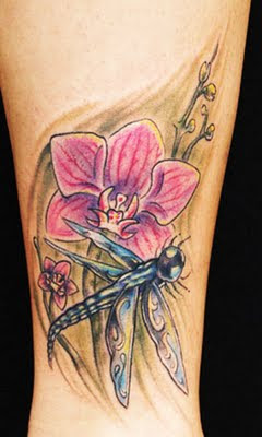 Tattoo Capung - Dragonfly Tattoos