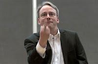 Linus Torvalds Acungkan Jari Tengah untuk Nvidia