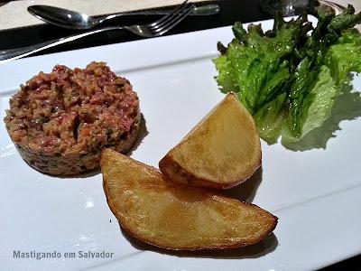 Cedro Restaurante: Steak Tartar