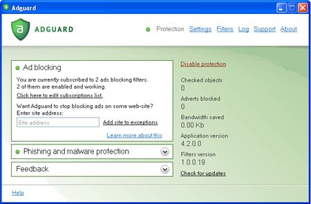 Anti-Banner Adguard 4/b.2.2 Build 1.0.3.40 Full + Keygen + Crack Fre