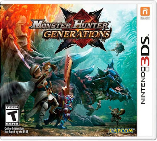 Download Monster Hunter Generations -Online- Region Free (3DS CIA)