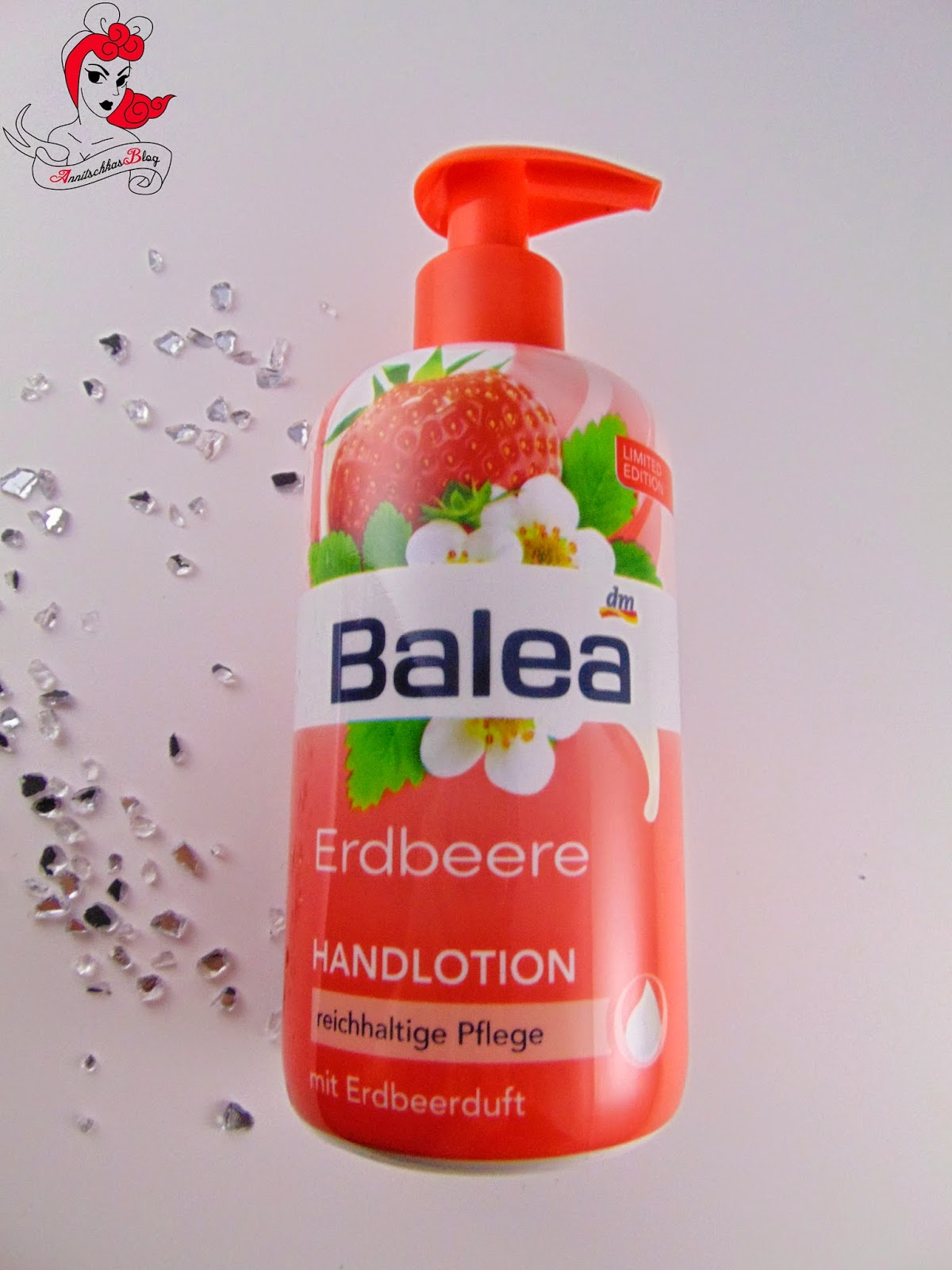 Balea Erdbeere Handlotion - www.annitschkasblog.de