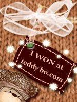 J'ai gagné le challenge Teddy Bo !