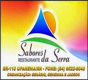 Restaurante Sabores da Serra - Upanema/RN