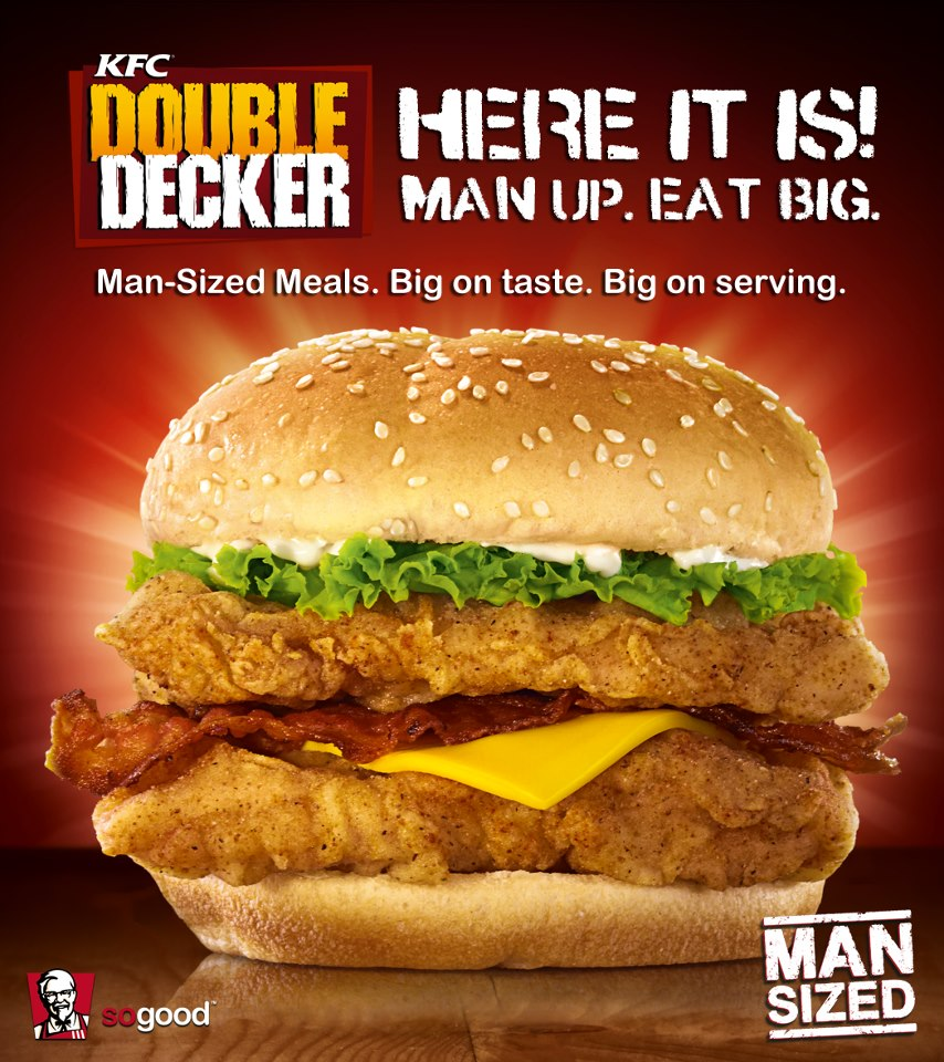 KFC 'Double Decker' is now available in the Philippines