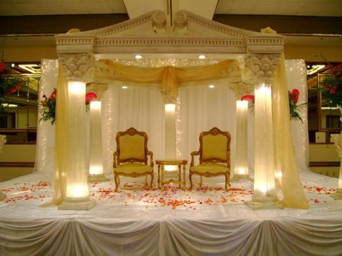 Indian Wedding Stage Design Shaadi