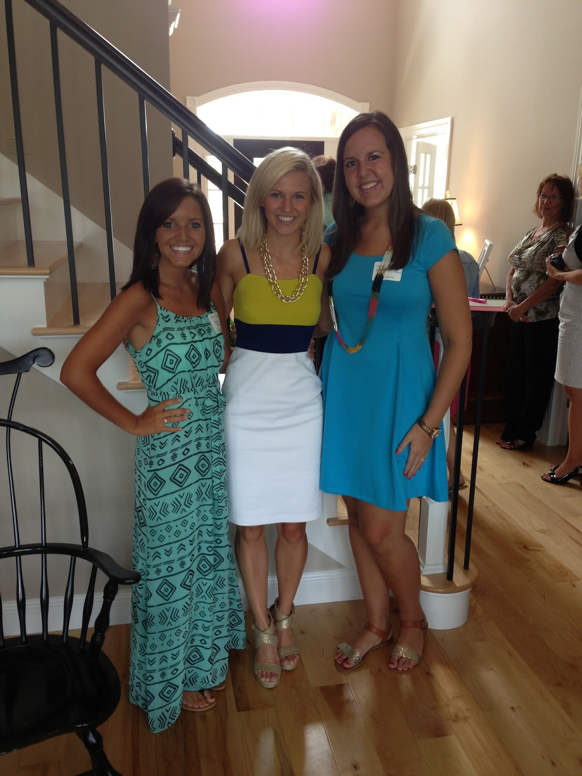 another bridal shower and a new blogger