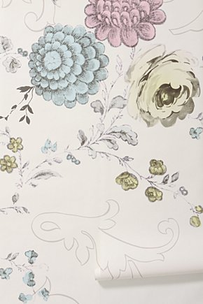 Mallory makes things decor love anthropologie wallpapers for Anthropologie mural wallpaper