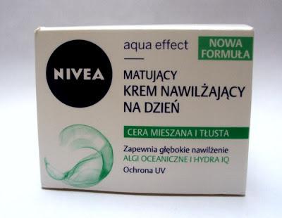 NIVEA AQUA EFFECT matujący krem nawilżający na dzień